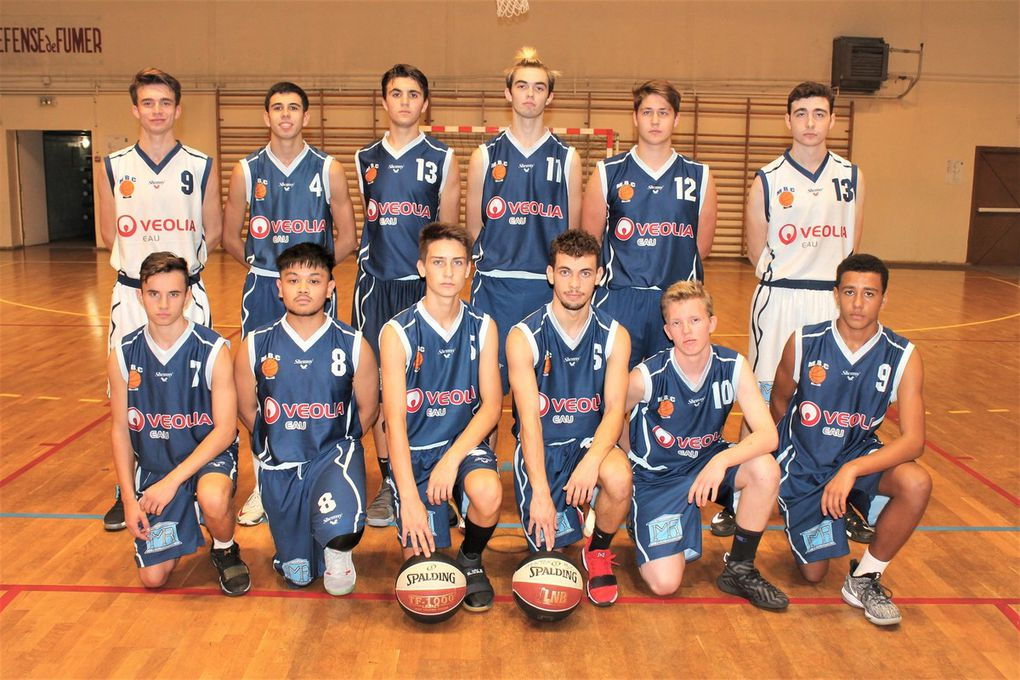 U20 : Debout : Théo GODEMERT - Thibault CARUSO - Léo BLANCHET - Victor SERRA - Hugo ANDRIANI - Jean-Louis ALLIA - Accroupis : Kévin CAMPOS RODRIGUES - Josh COSTELLO - William VACHEY - Antony POSTEL - Paul SCHNEIDER - Marvin RODRIGUES