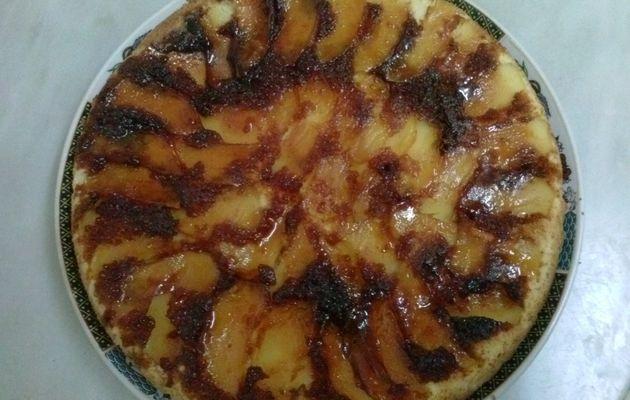 كيكة بلكرميل و التفاح