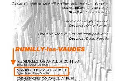 MUSIQUE : 30 voix et 3000... tuyaux (concert à entrée libre)