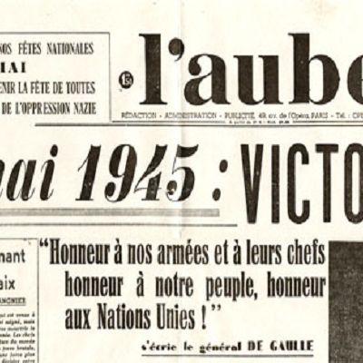 8 mai 1945 : les alliés font tomber le régime Nazi.