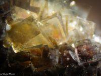 Fluorite (Fluorine) from Okorusu Mine, Otjiwarongo Region, Karibib District, Namibia (size: Museum)