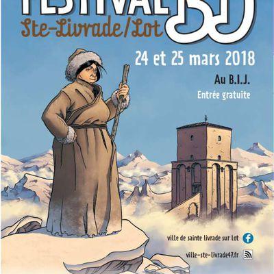 FESTIVAL BD de Sainte Livrade sur Lot les 24 et 25 mars 2018