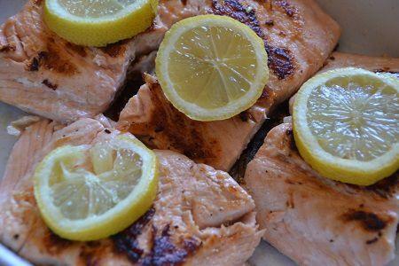 Recette facile :saumon à la plancha