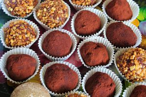 Truffes au Chocolat & Mascarpone