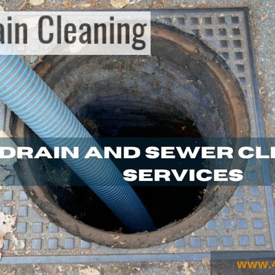 Drain Cleaning Services and Sewer Cleaning Available 24/7 Hours