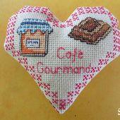 Cœur Valentin Gourmandises : Café Gourmand Face A - Chez Mamigoz