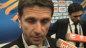 Sport/Foot: Rémi Garde revient en zone mixte sur la défaite de Lyon en Coupe de la Ligue contre le PSG (1-2) (video)