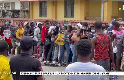 Demande d'un moratoire du droit d'asile en Guyane