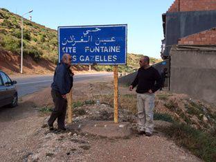 arzew la fontaine des gazelles et et le restaurant des gazelles ...inoubliable