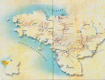 Tourisme Fluvial à Pontivy, une carte disponible aussi..........