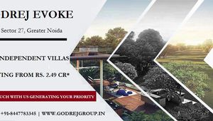 Godrej Evoke At Godrej Golf Links, Sector 27, Greater Noida | A Home Where Luxury is your closest Neighbour