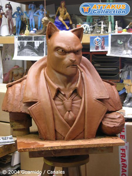 Attakus @ Buste BLACKSAD