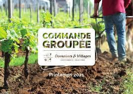 """Commandes de vin """"Domaines et Villages"""""""