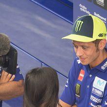 """MotoGP Valentino Rossi : """"Ce serait intéressant d'avoir Pedrosa chez Yamaha"""""""