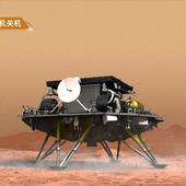 Pékin à la conquête de Mars : la Chine y fait atterrir son robot Zhurong