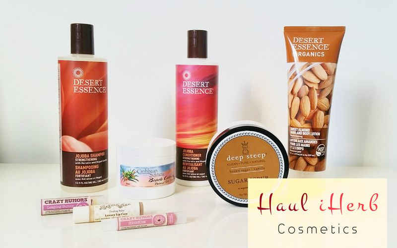 Haul iHerb N°3 Cosmetics : Desert Essence, Crazy Rumors, Deep Steep...