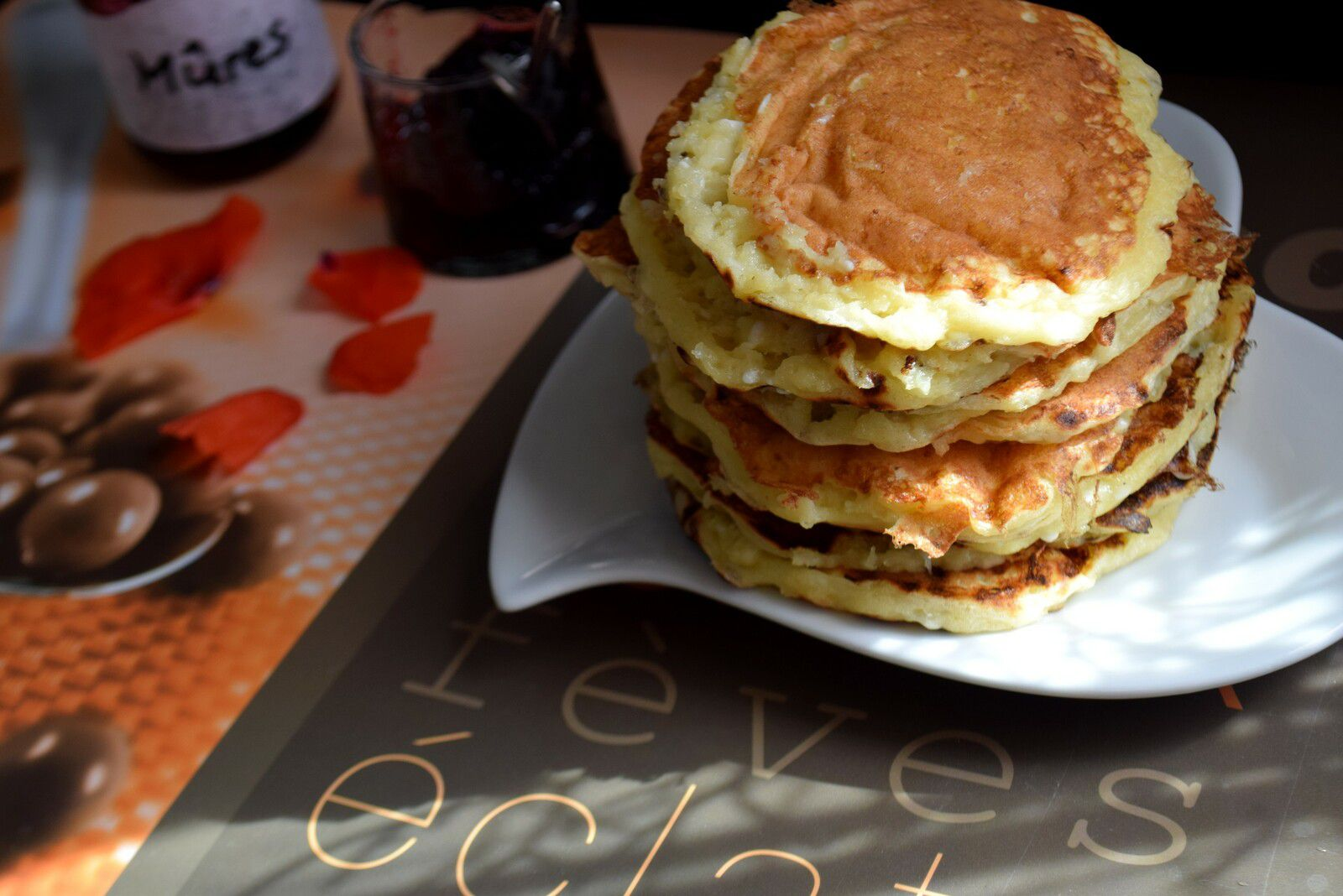 Syrniki (Pancakes Russes au Fromage)