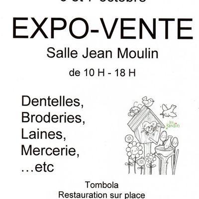 Préparation de l' Expo de Bannalec
