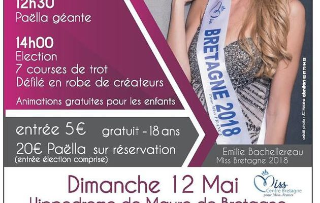 Election Miss Centre Bretagne 2019
