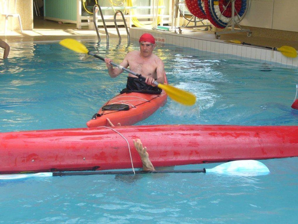 Séance d'entraînement en piscine du dimanche 18 avril 2010