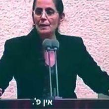 Il n'y a pas de«P» pour Palestinedans l'alphabet arabe!