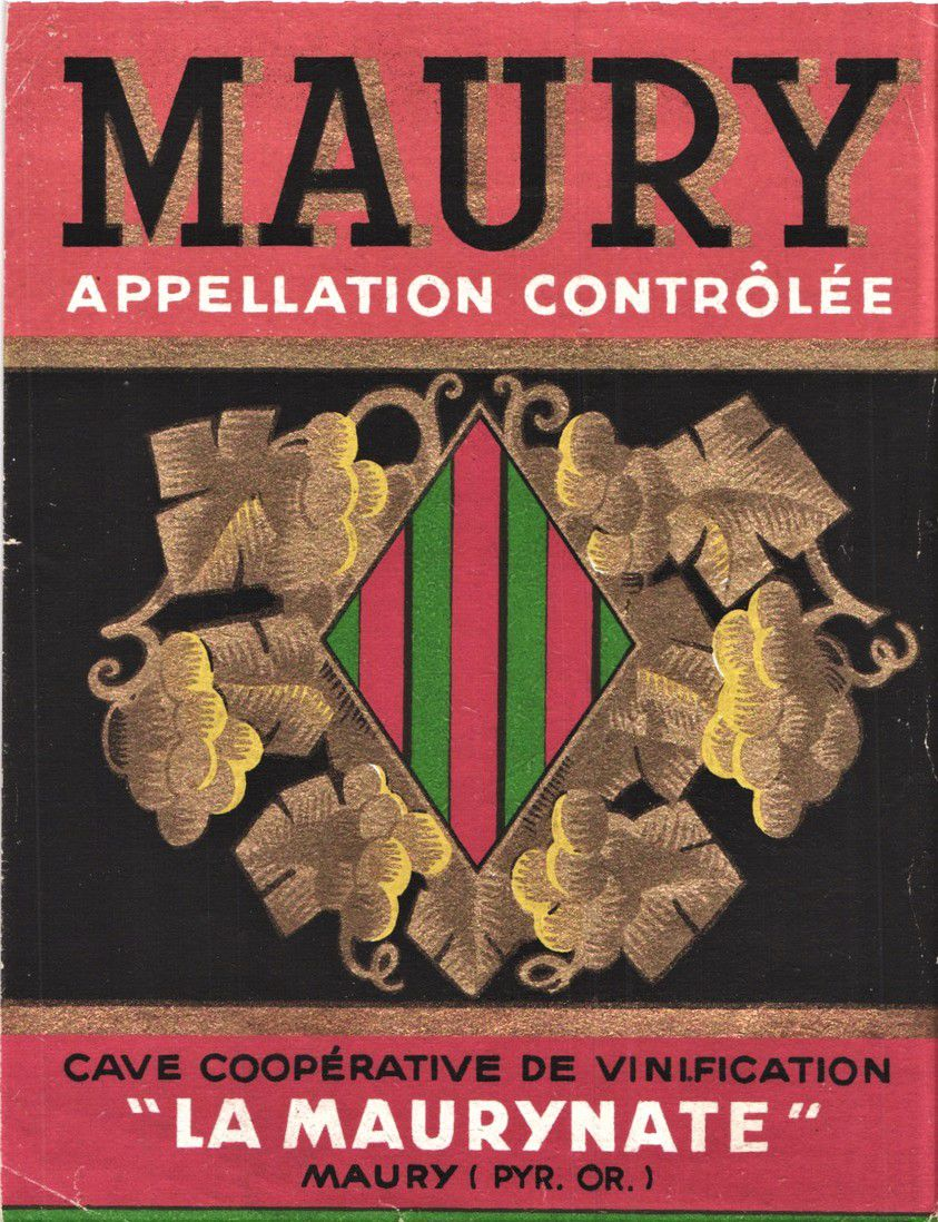 Cave coopérative de Maury.