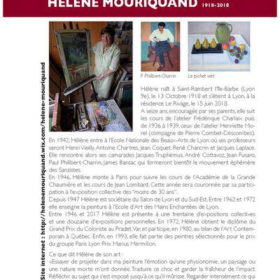 HOMMAGE À HÉLÈNE MOURIQUAND
