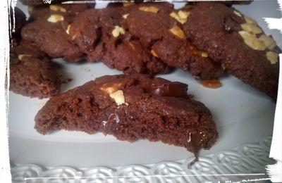Cookies tout chocolat maison