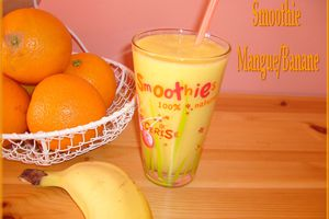 Smoothie Mangue/Banane