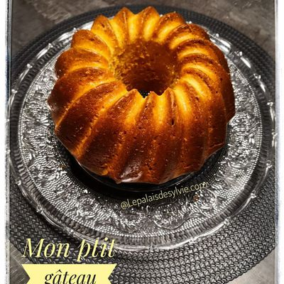 Gâteau au Yaourt de Brebis ou Vache