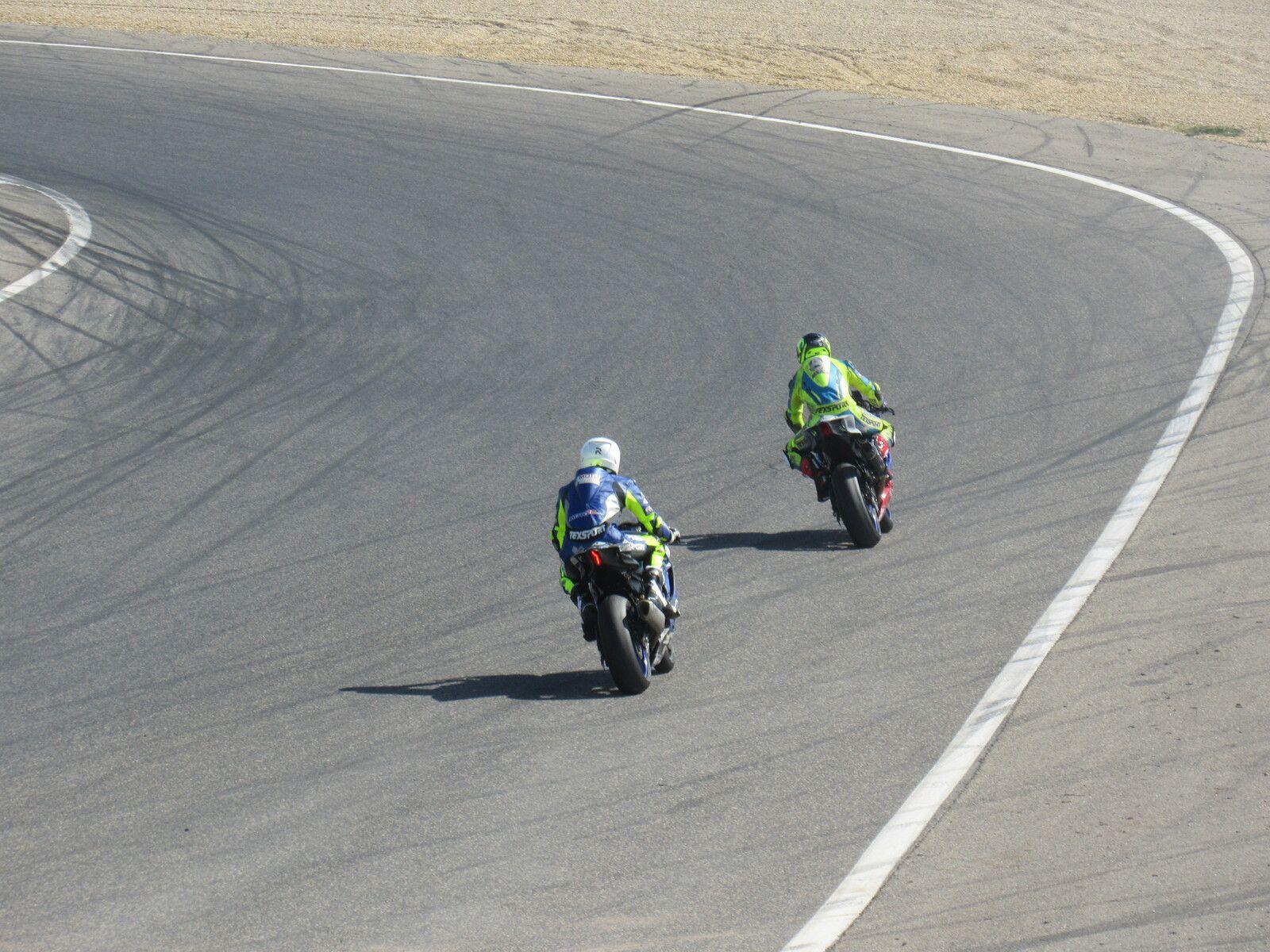 3ème journée et dernière roulages privés motos avec 4G association moto piste