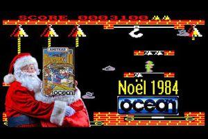 Vidéo Spécial Noël - La production et la vente du jeux vidéo Hunchback 2 pour Noêl 1984