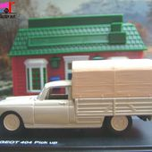 PEUGEOT 404 PICKUP BACHE 1964 1/43 ELIGOR - car-collector.net