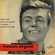 Les poètes François Coppée (1842-1908), portrait et caricature, et Victor Hugo (1802-1885) à deux périodes de sa longue vie ; les chanteurs Henri Salvador (1917-2008) charme et talent, et François Deguelt (1932-2014) l'idole des années 60.