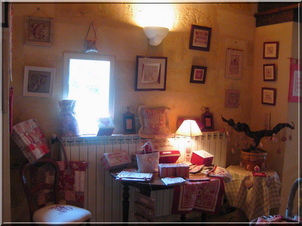 EXPOSITION BRODERIE MAI 2010 CHATEAU DE SEGUR PAREMPUYRE 33