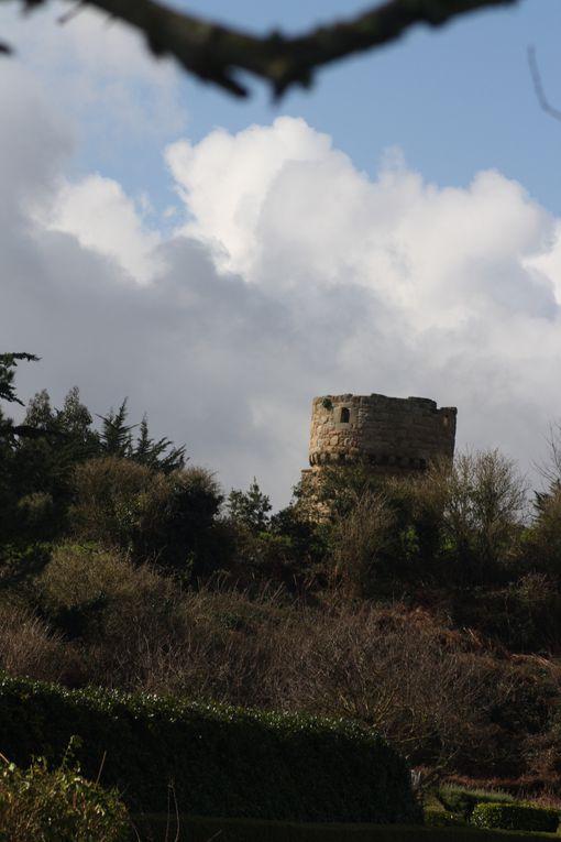 Vues de l'île de Bréhat, prises les 7 et 8 mars 2013.