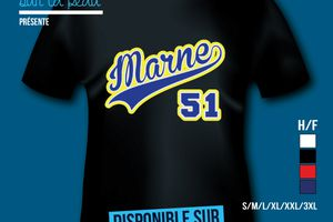 T-shirt: France - Champagne-Ardenne - Marne 51.