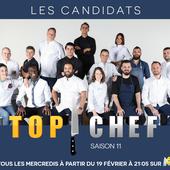 Découvrez les concurrents de Top Chef 11 qui débute aujourd'hui : Mallory, Diego, Martin, Adrien, Mory... - Leblogtvnews.com