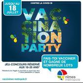 #FRANCE : Tous les moyens sont bons pour pousser à la #vaccination avec la 1ère vaccination party 🤮🤮🤮🤮🤮