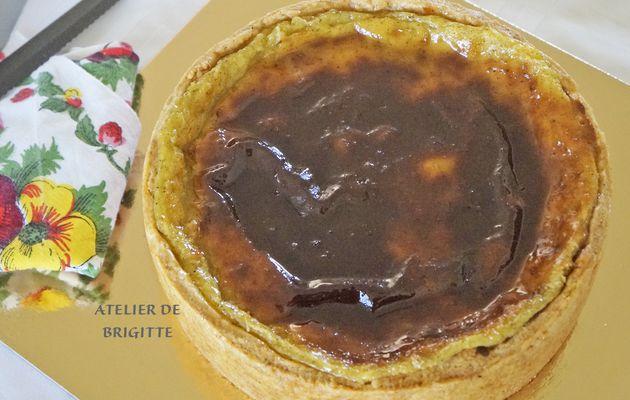 Flan Parisien Vanille & Fève Tonka, recette du Chef Aurélien Cohen