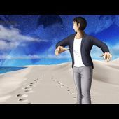 Les pas dans le sable (192 )