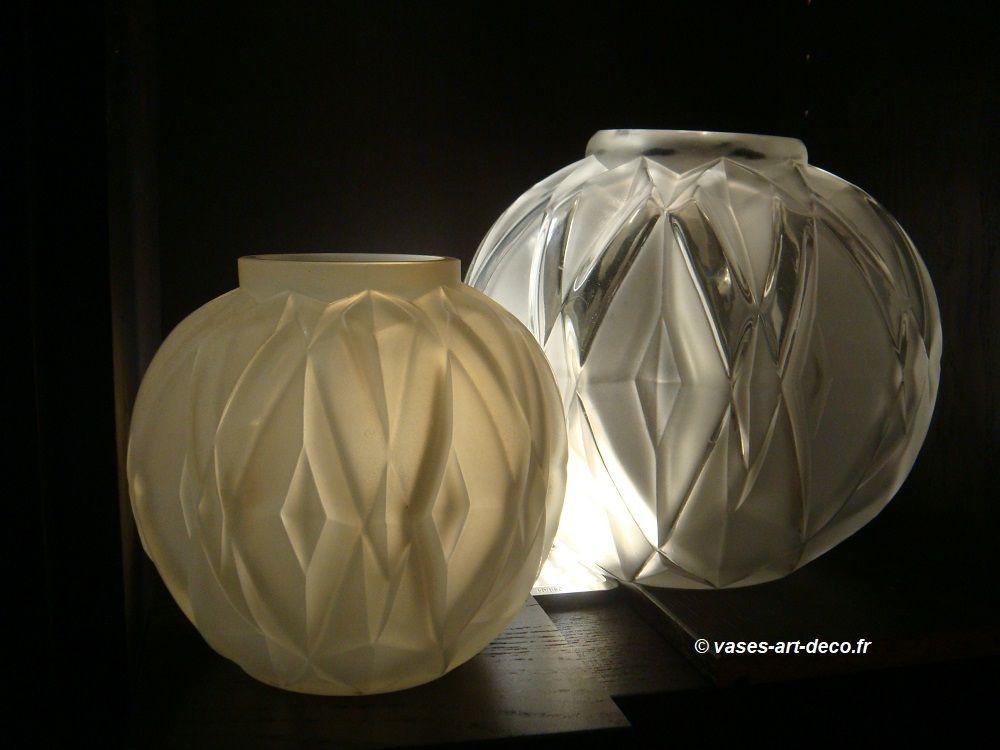 Les 2 Vases Prisme - Petit et Grand Modèle
