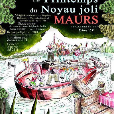 Bal du Noyau Joli à Maurs