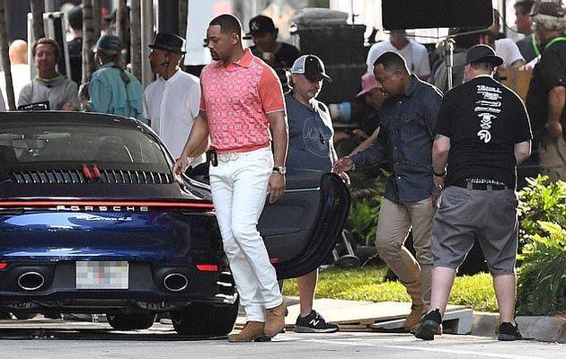 Will Smith et Martin Lawrence ont mis la pédale au métal pour une scène de chasse à la police lors du tournage de Bad Boys For Life à Miami