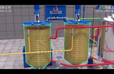 Small scale edible oil refinery machine is popular on the edible oil market