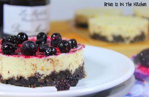 Panna Cotta Cake Vanille et Myrtille