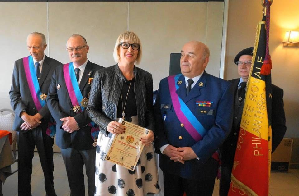 La cérémonie annuelle du 5 novembre 2016 à Tournai
