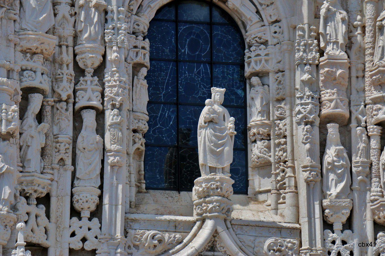 Portail sud du monastère des Hiéronymites, Lisbonne (Poryugal)