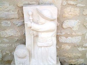 Saint-Leger : halle des pèlerins.
