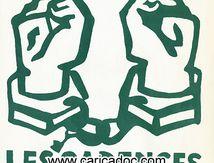 «A bas les cadences infernales», affiche, 1968.